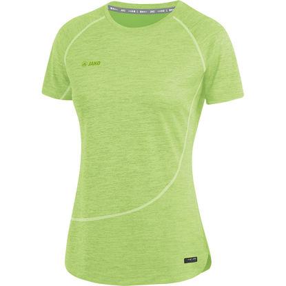 Afbeeldingen van T-shirt Active Basics  fluogroen gemeleerd