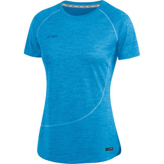 Afbeeldingen van T-shirt Active Basics  JAKO-blauw gemeleerd