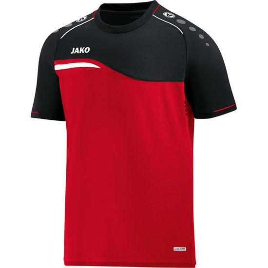 Afbeeldingen van T-shirt Competition 2.0  rood/zwart